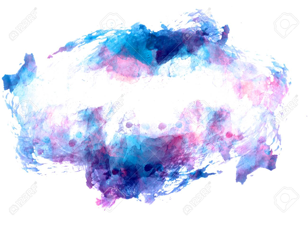 Abstract Beautiful Colorful Watercolor Illustration Painting Stock Photo Picture And Royalty Free Image Image 116125552