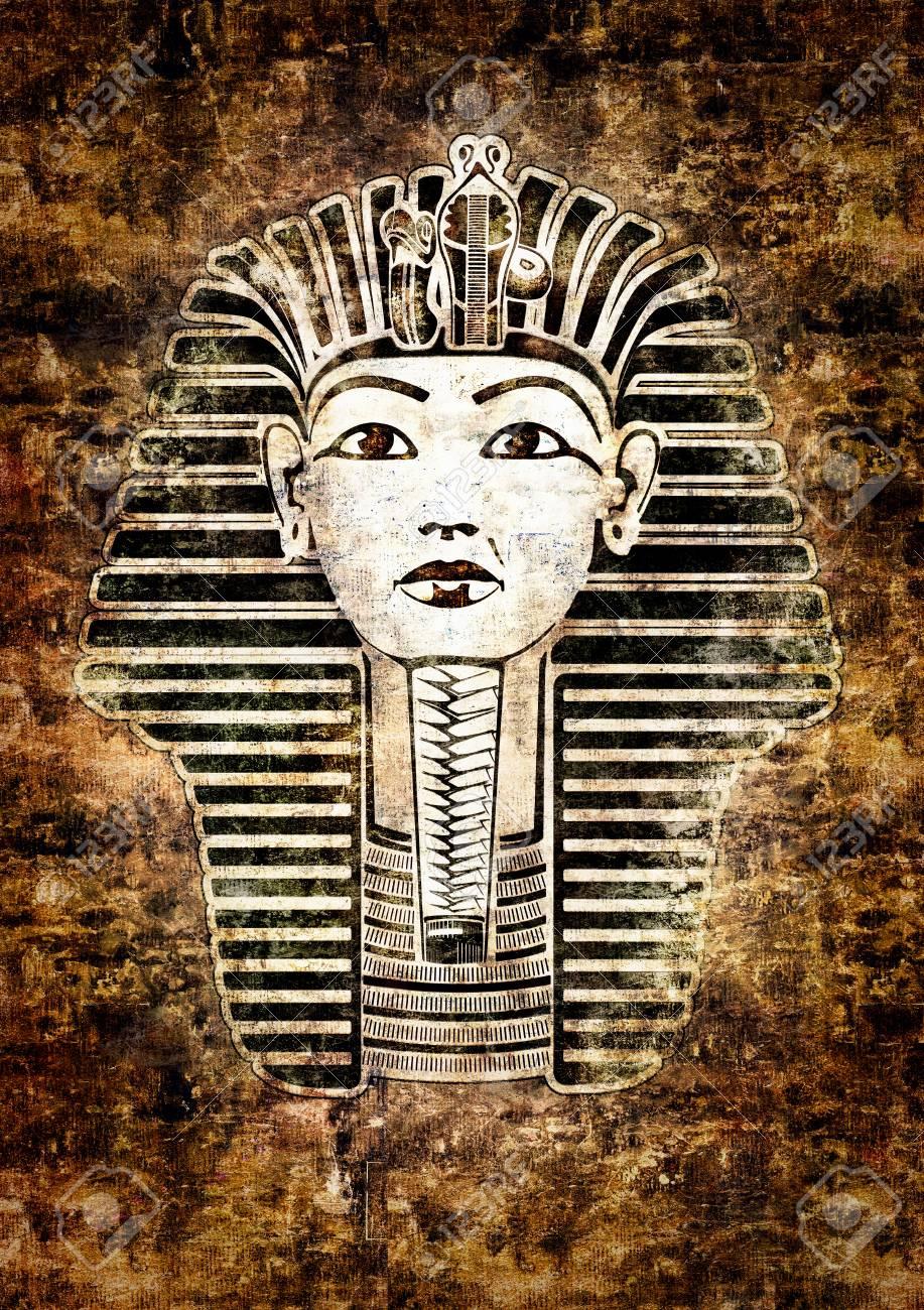 Tutankhamun Egyptian Pharaoh Stock Photo - 8915241