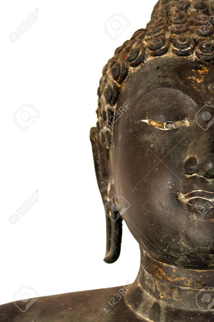 half face buddha Stock Photo - 12340438