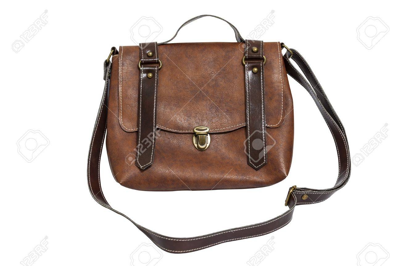 Leather lady bag vintage style Stock Photo - 14576898
