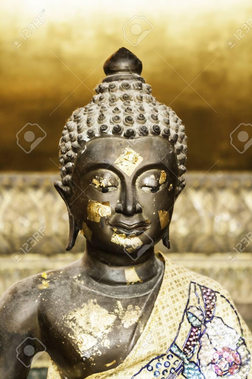Half body buddha Concentration Stock Photo - 15360367