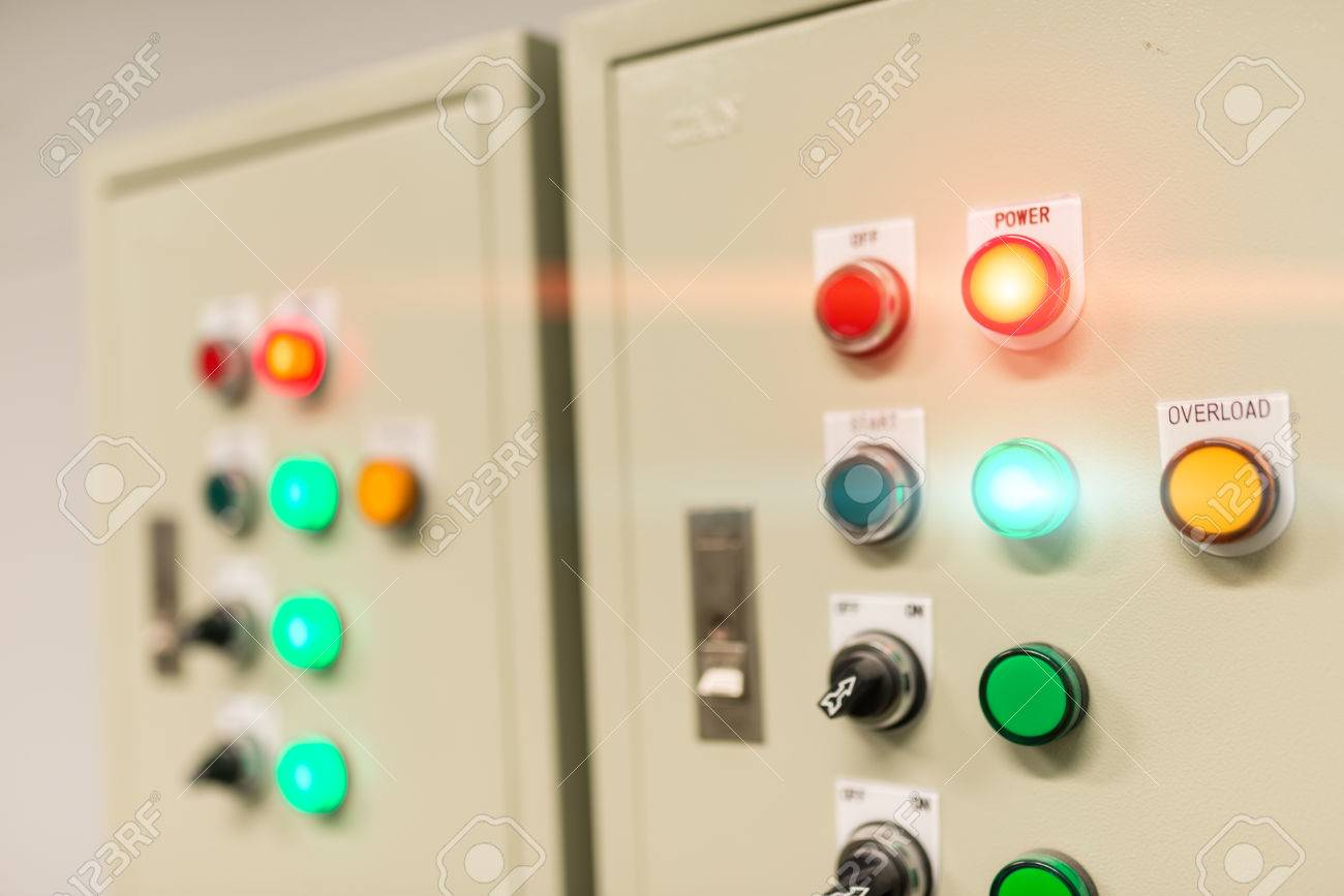 Outdoor Fuse Box Electric In Soft Light Stock Photo 2012 International Prostar Picture And
