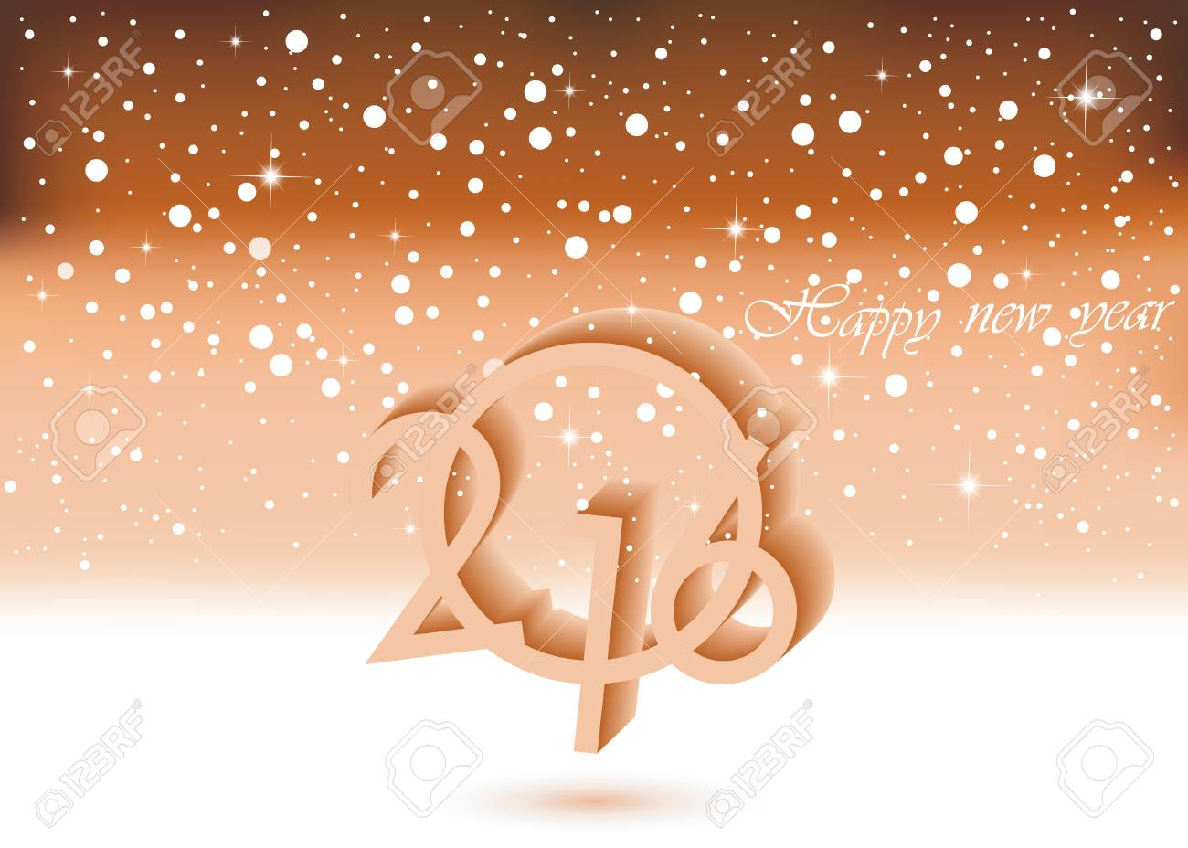 happy new year background for your invitation festive poster stock vector 46852953