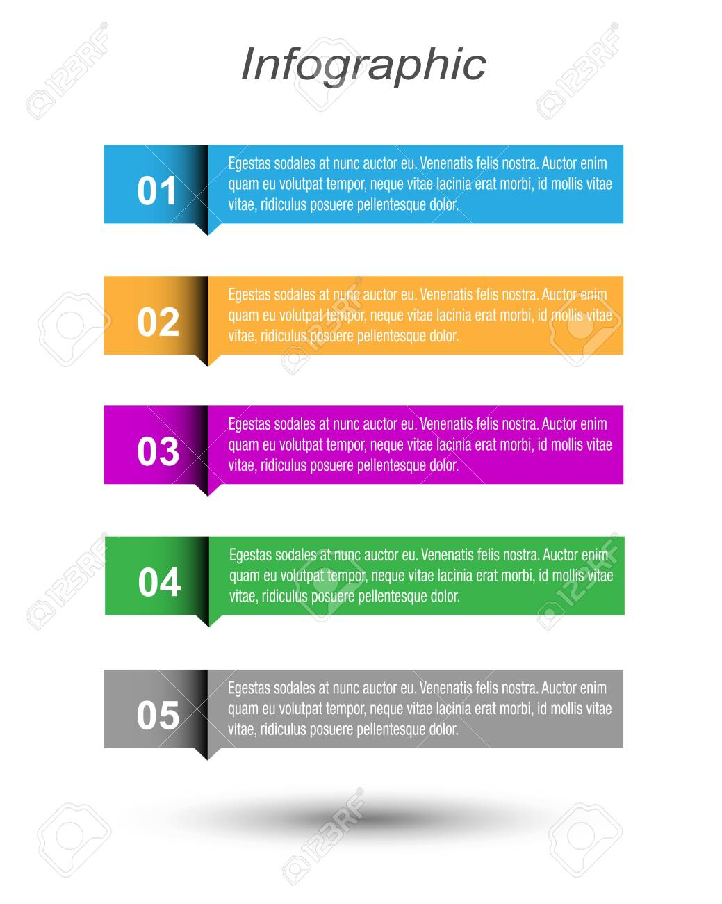 Modern Design Template, can be used for info-graphics, banners for web layout. - 152749036