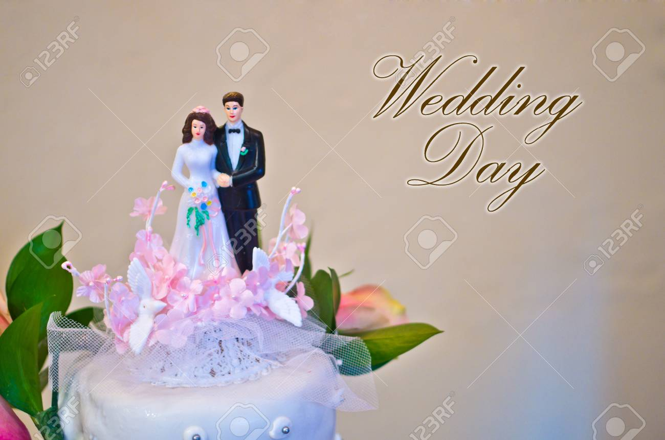Figuren Der Braut Und Brautigam Hochzeitstorte Wunschen Alle