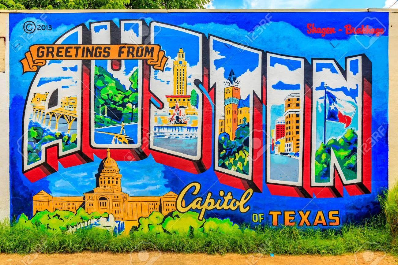 Austin texas usa june 5 2016 greetings from austin capitol austin texas usa june 5 2016 m4hsunfo