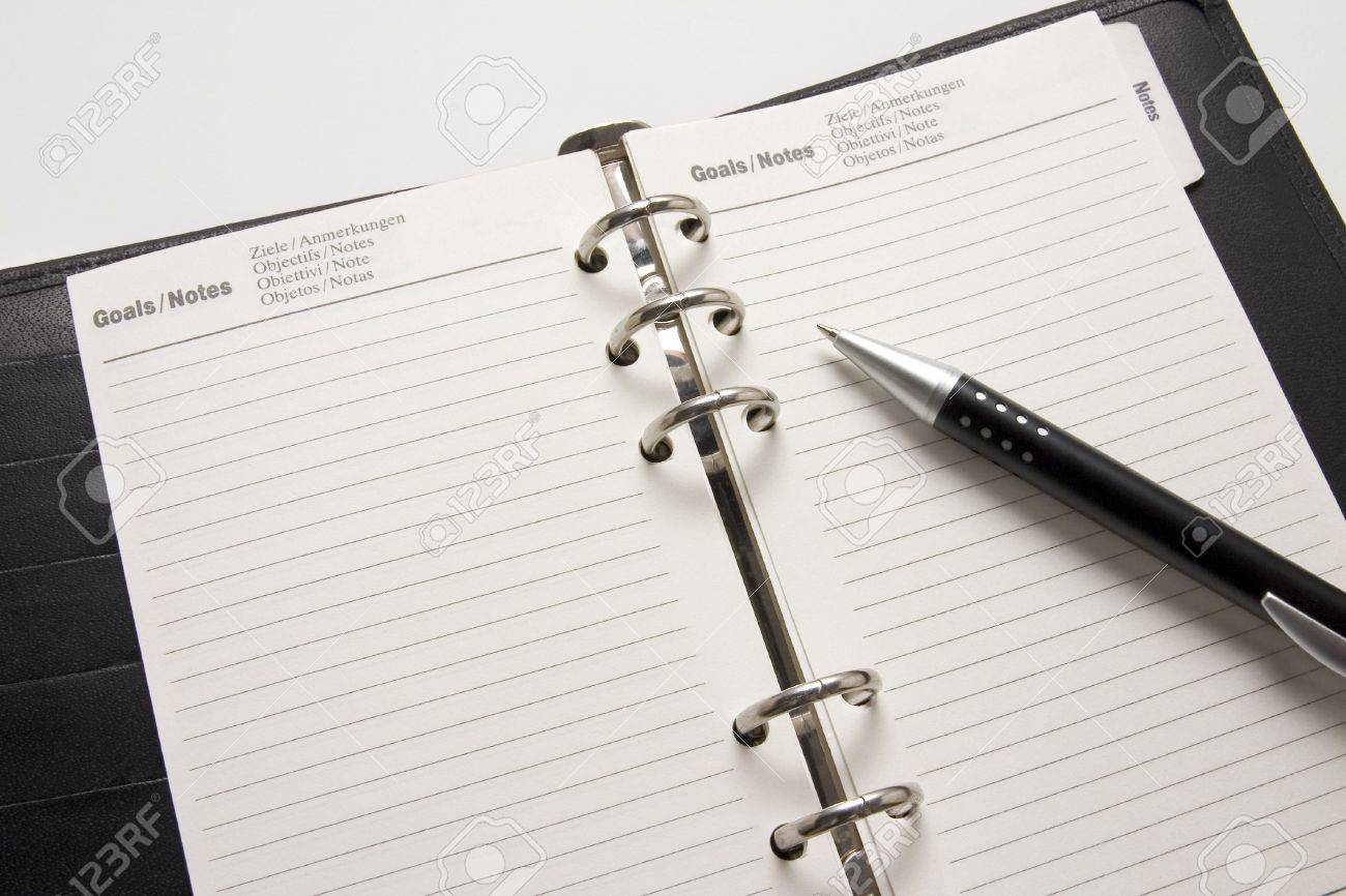 Blank business agenda ready for writing stock photo picture and blank business agenda ready for writing stock photo 5094658 thecheapjerseys Choice Image