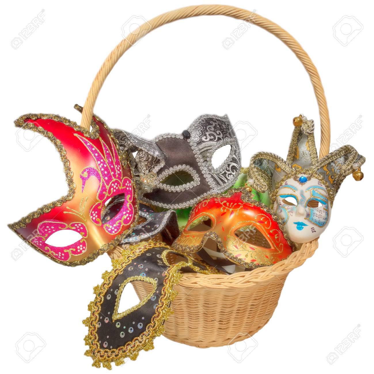 Black And White Masquerade Carnival Masquerade Mask Black