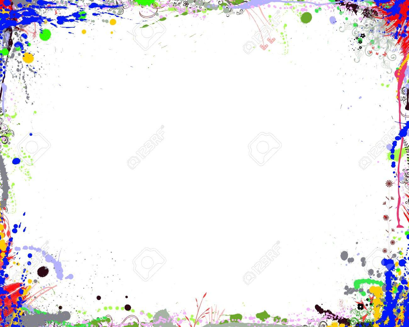 abstract color frame stock photo 4627522