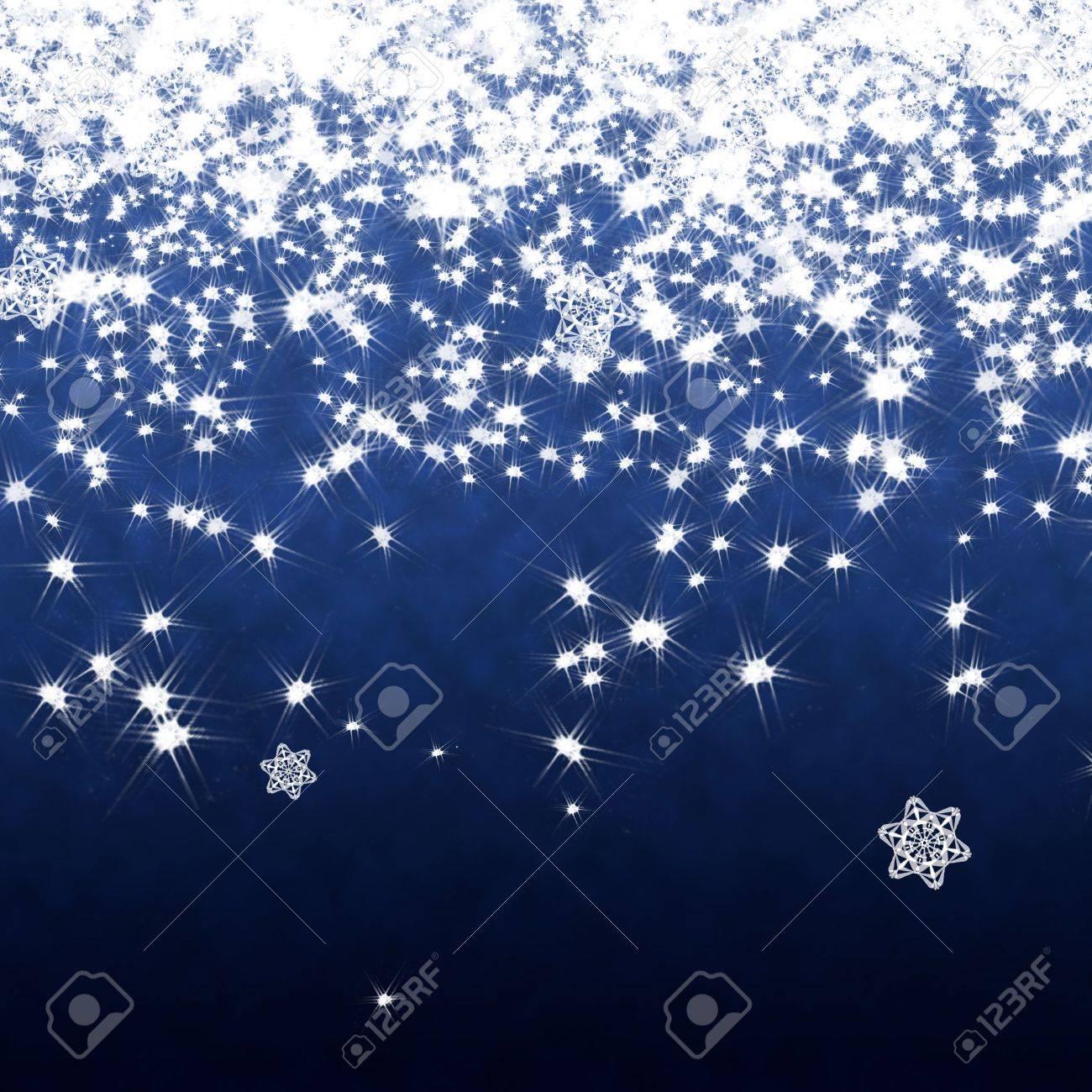 Star falling background Stock Photo - 11698109