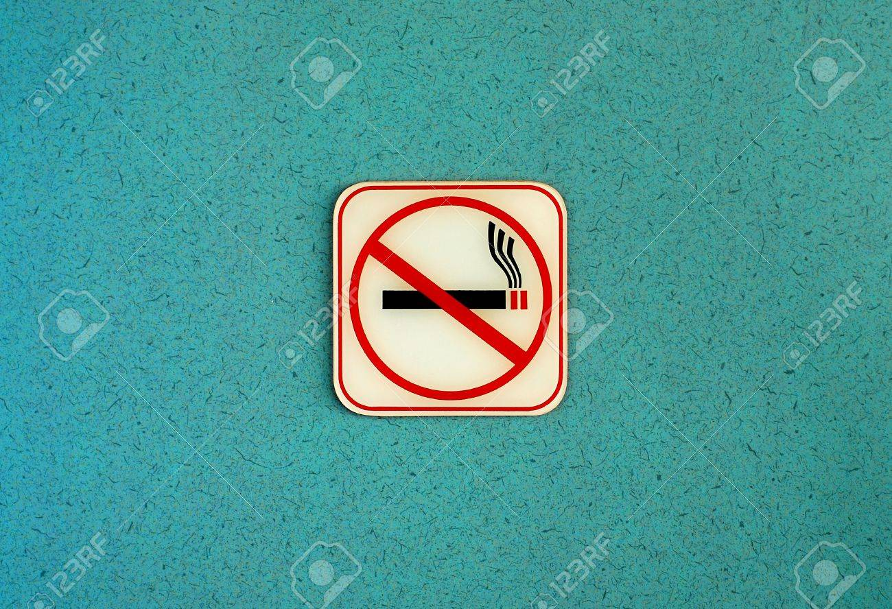 No smoking background Stock Photo - 13362163
