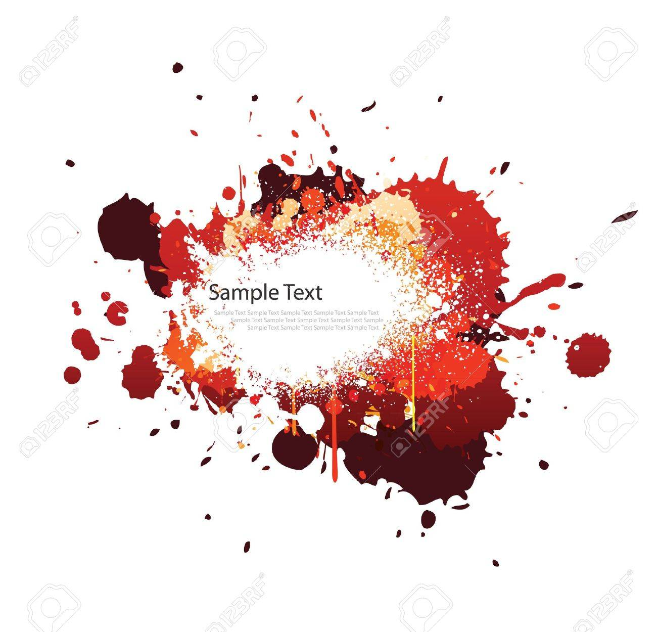 paint splatter background blue red images & stock pictures
