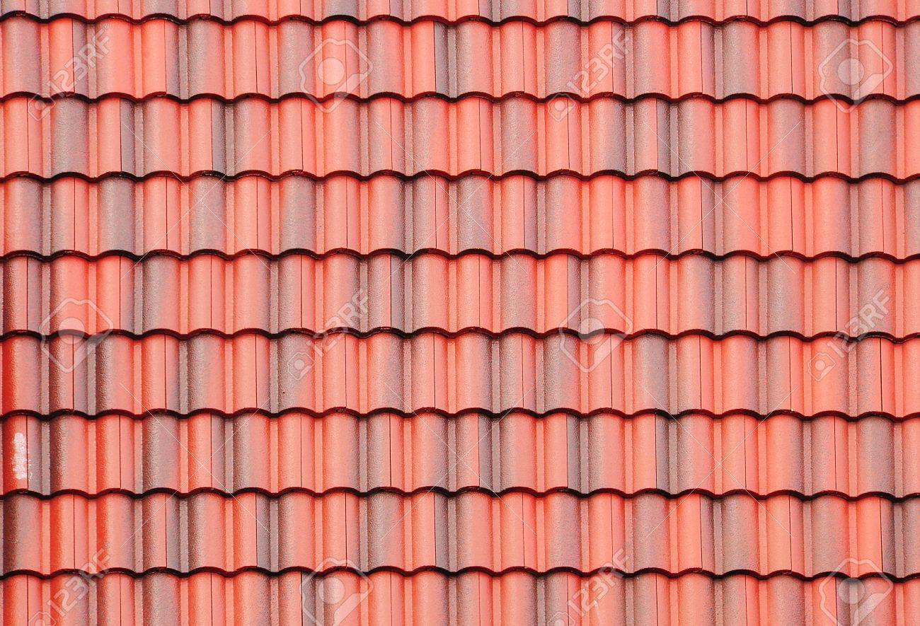 Dach textur  Nahaufnahme Von Roten Dach Textur Lizenzfreie Fotos, Bilder Und ...