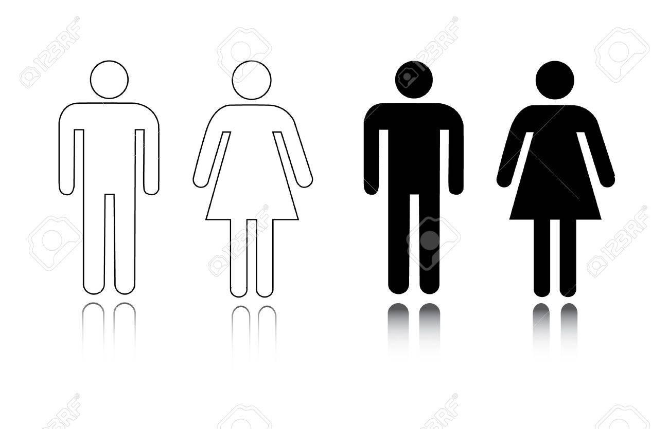 male bathroom symbol, Bathroom decor