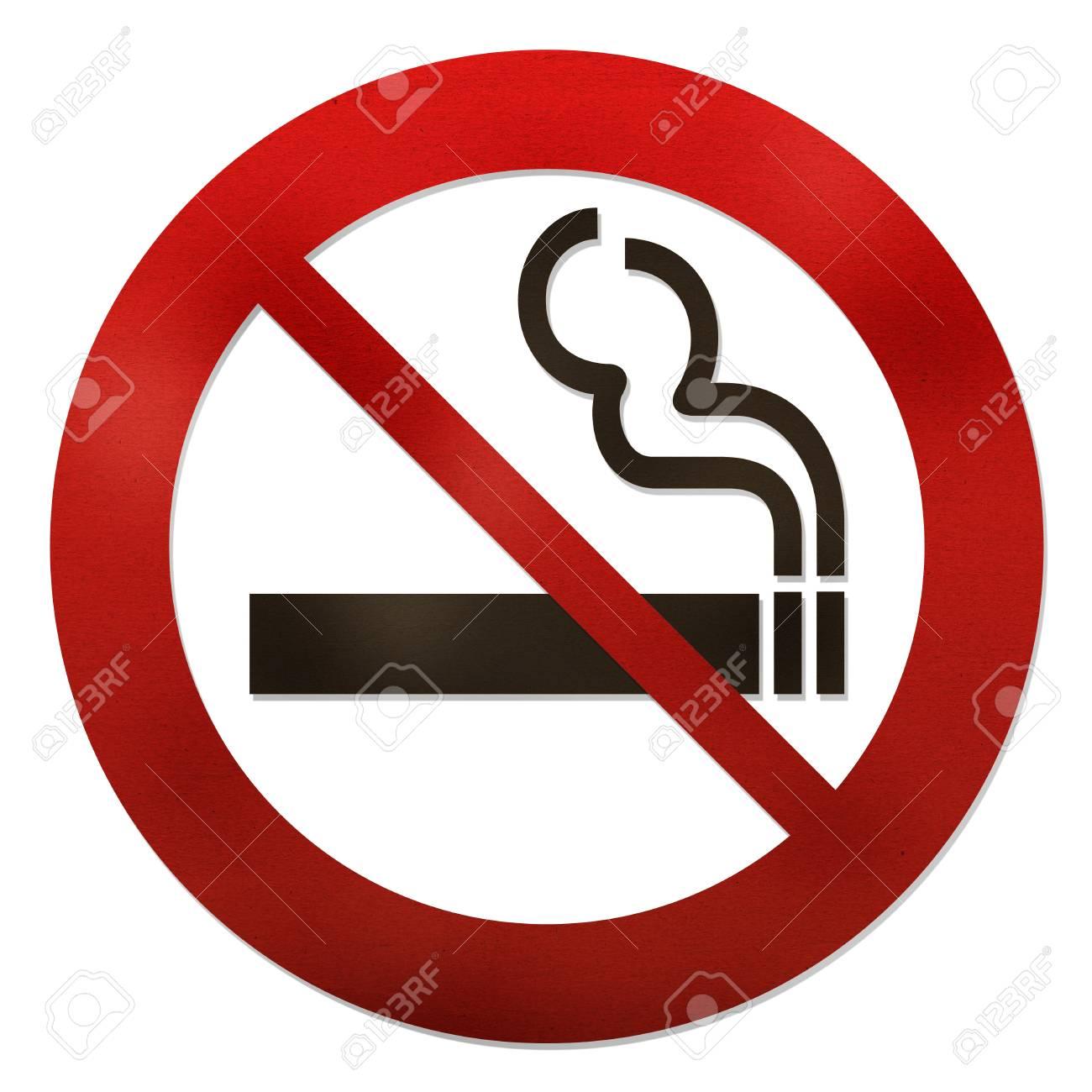 No smoking grunge texture sign on white Stock Photo - 15115231