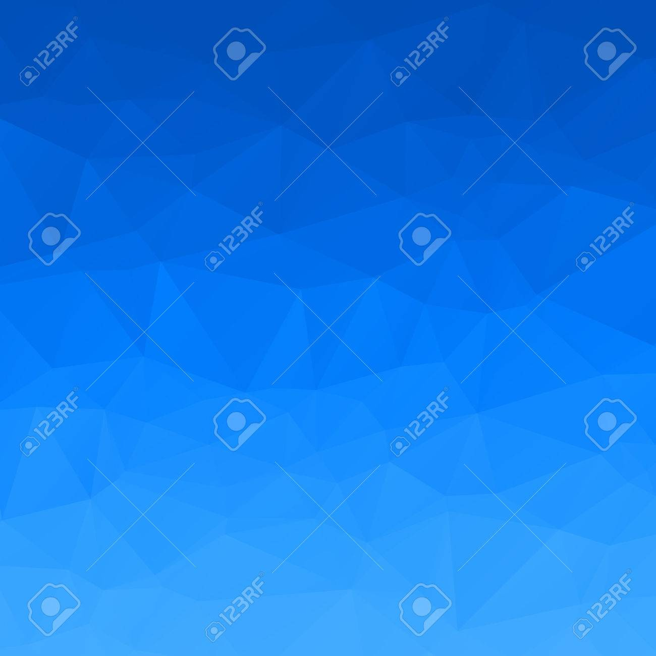 Abstract blue sky polygon background - 43568762