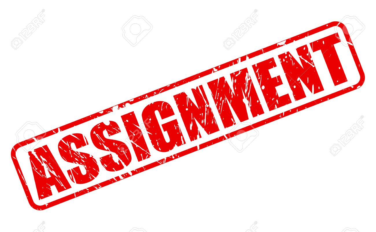 assignment red stamp text on white stock photo picture and assignment red stamp text on white stock photo 45096866
