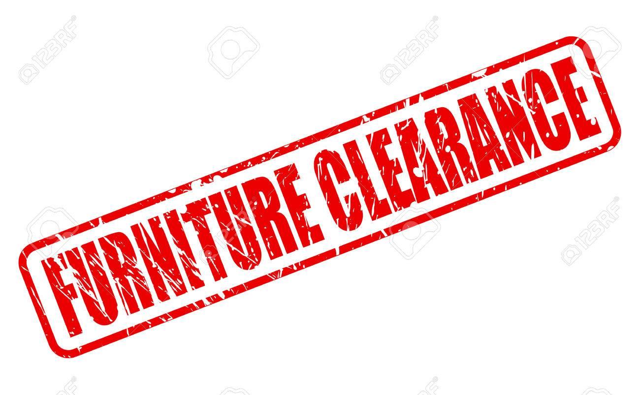 Muebles Liquidaci N Sello Rojo De Texto En Blanco Ilustraciones  # Muebles Liquidacion