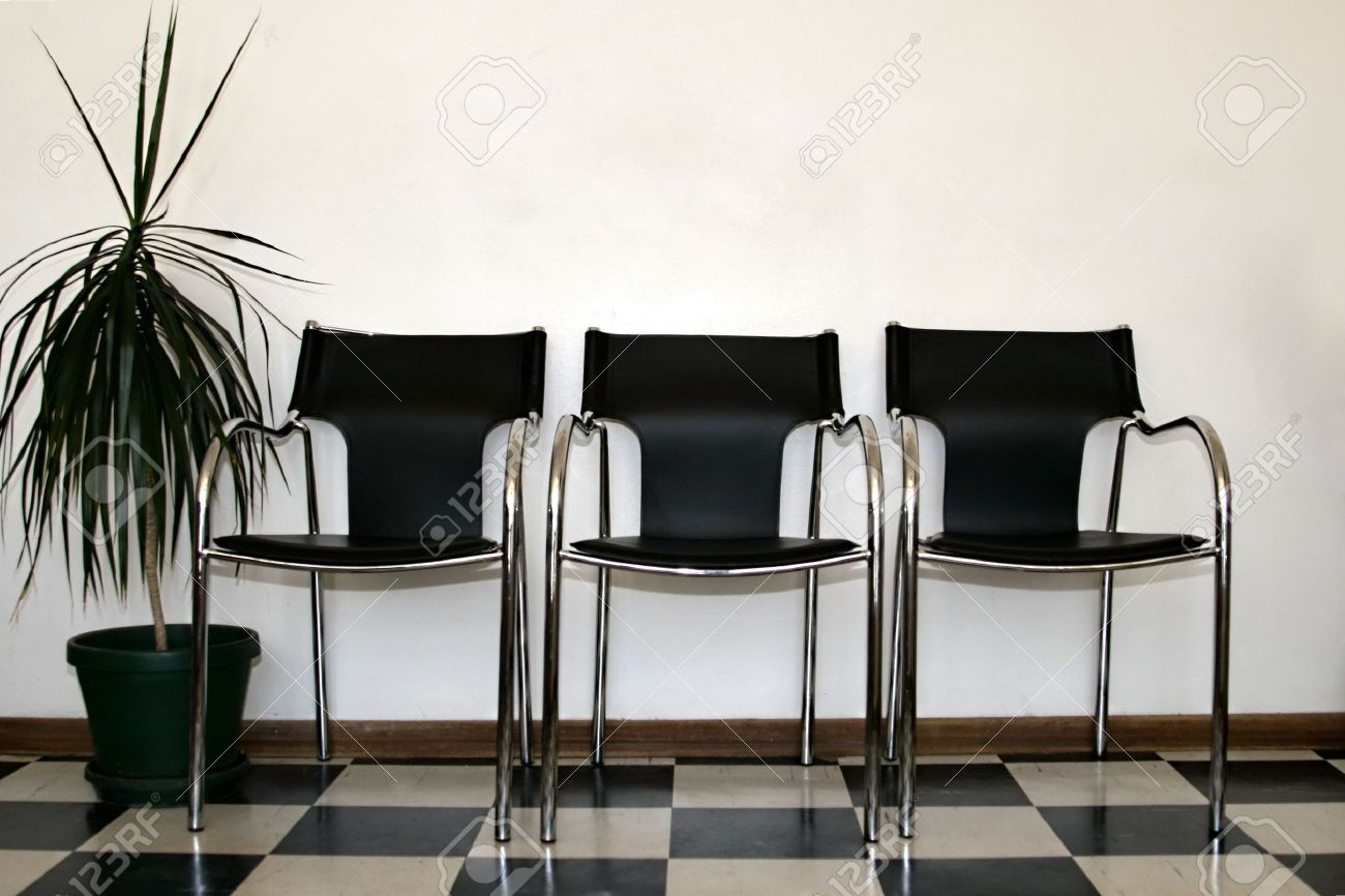 Chairs in a hospital waiting room stock photo 661579