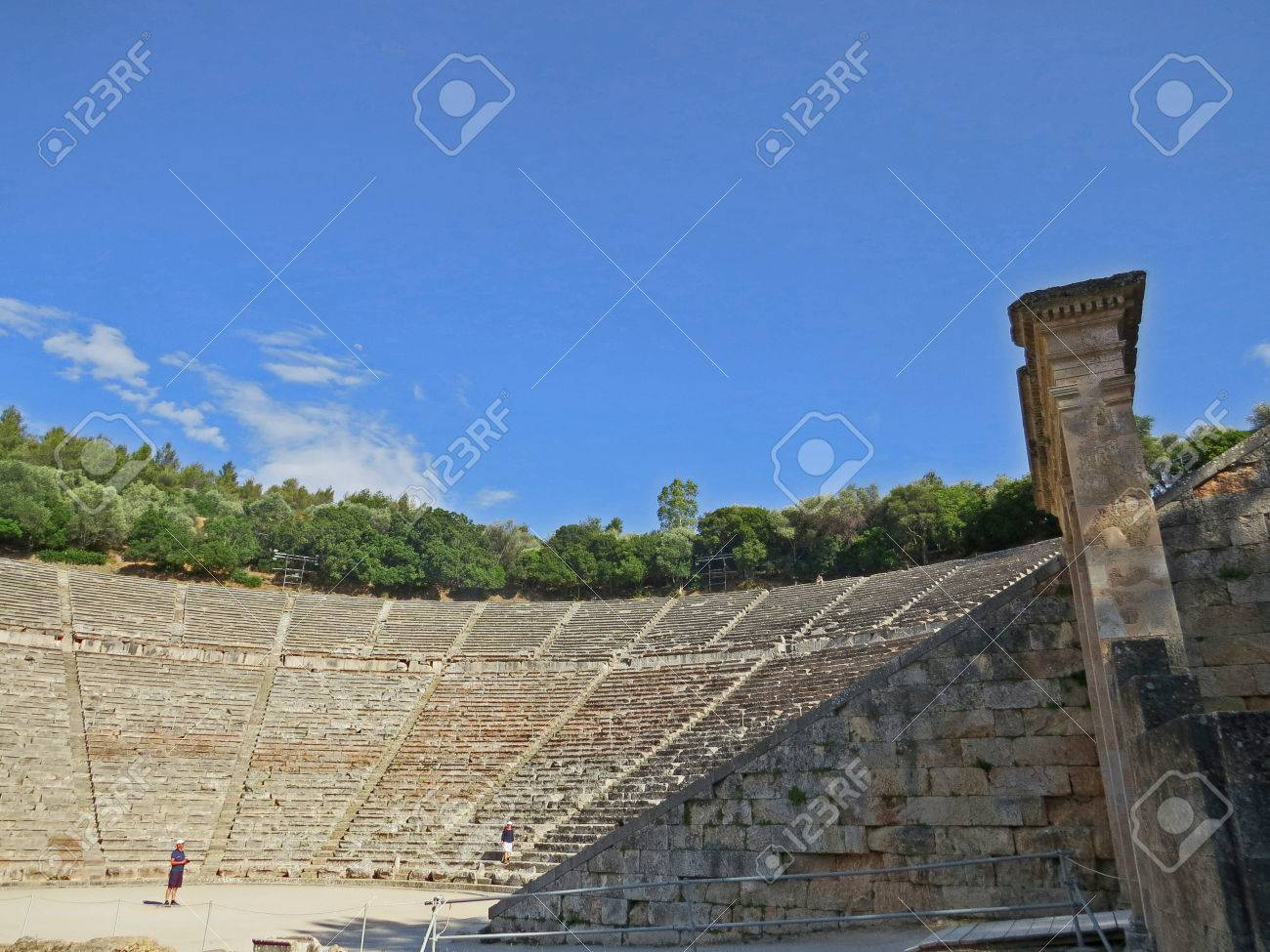Epidavros amphitheatre Stock Photo - 80610600
