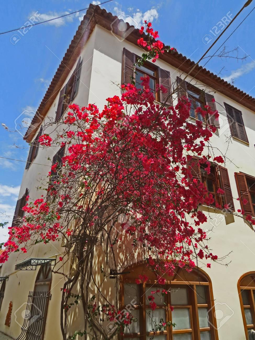 Napfilio ancient village Stock Photo - 80610601