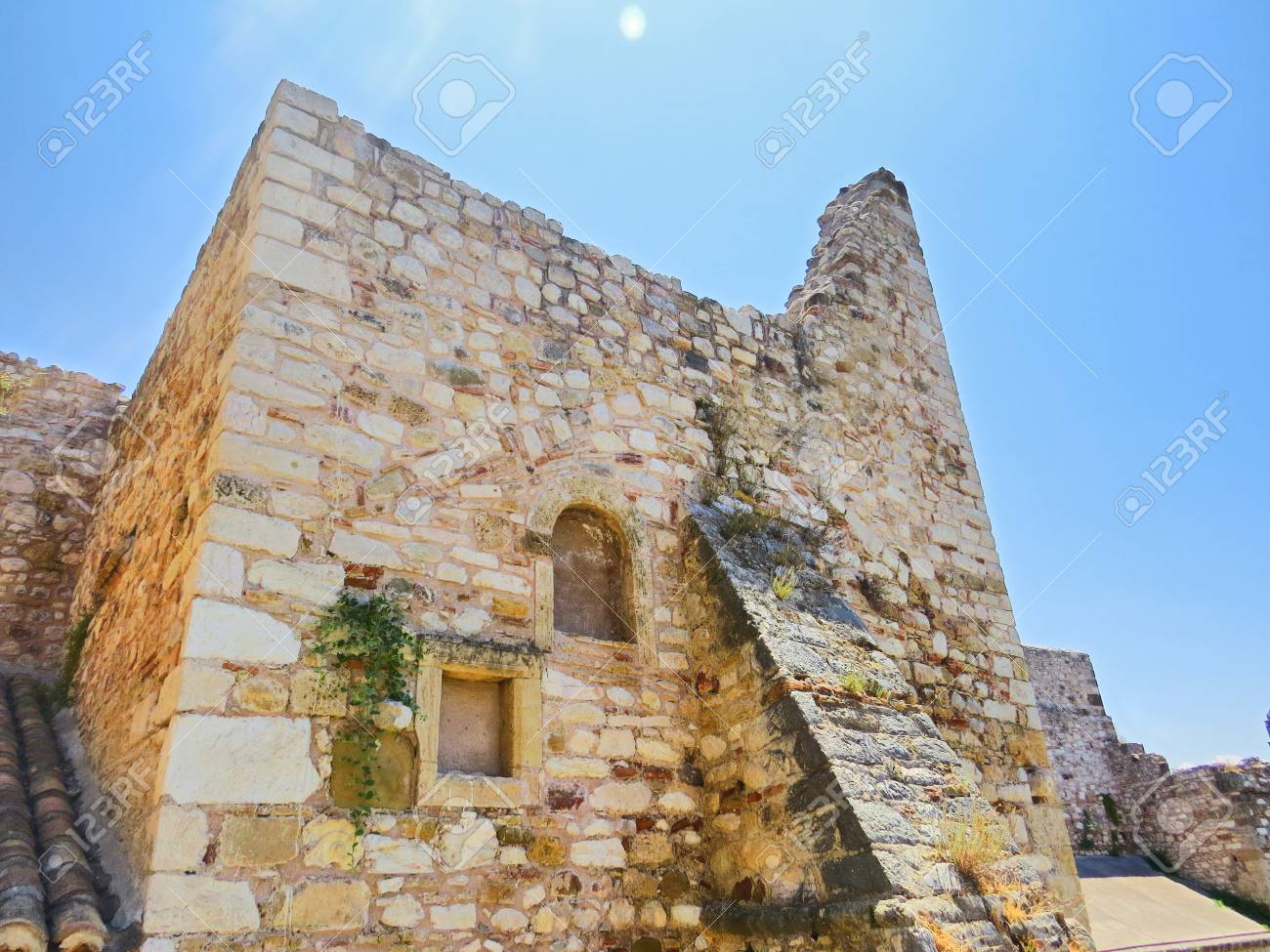 Ancient fortress of Patras Stock Photo - 80232364