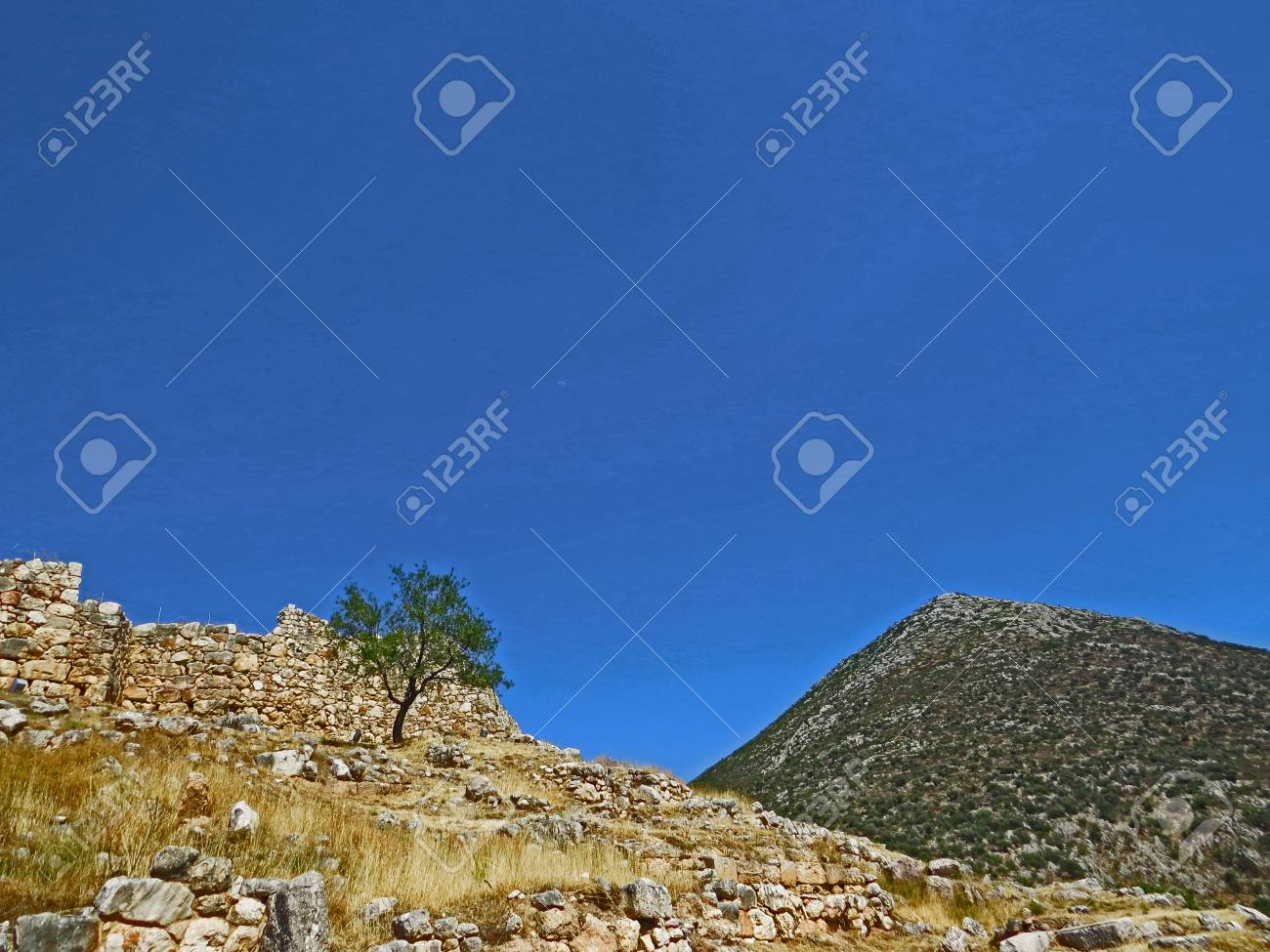 Ancient Mycenae Stock Photo - 80232334