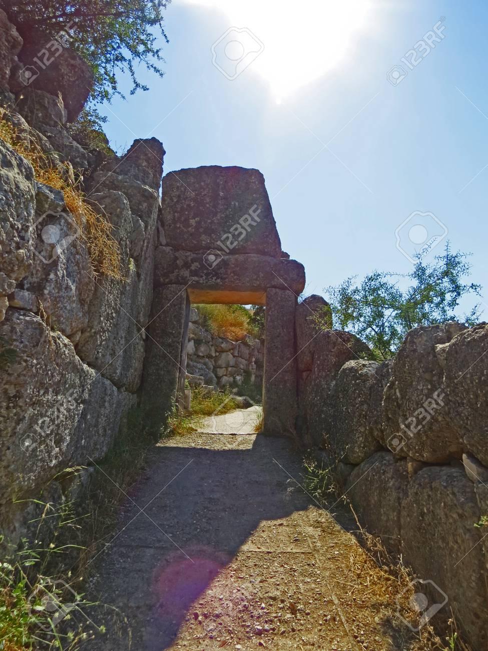 Ancient Mycenae Stock Photo - 80232421