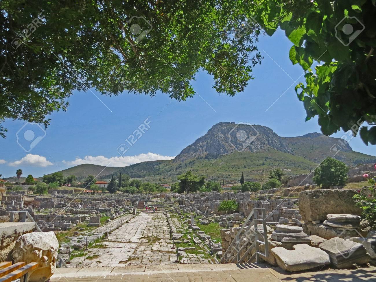 Ancient Corinth Stock Photo - 80232417