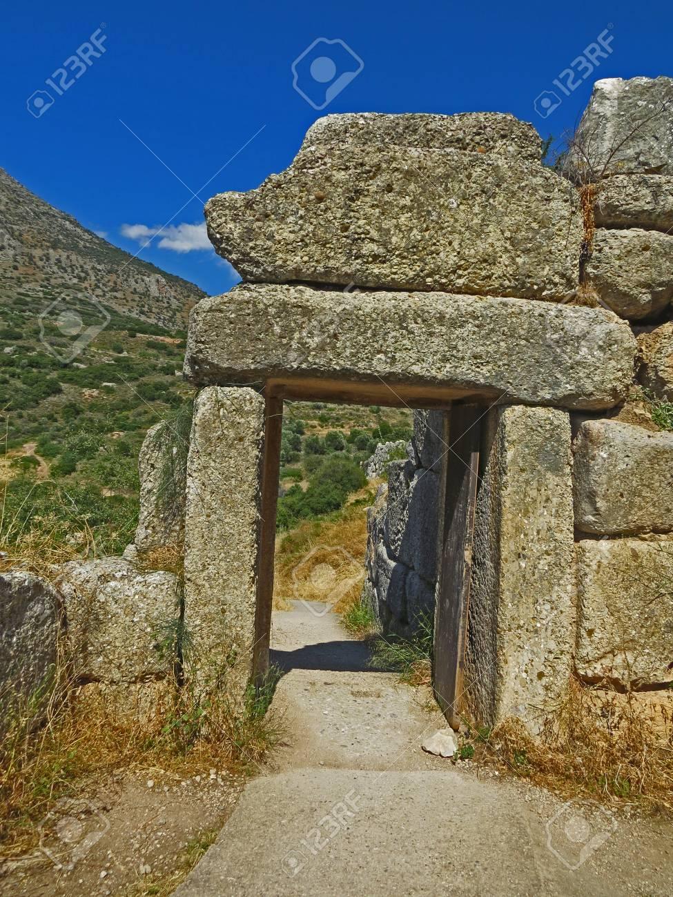Ancient Mycenae Stock Photo - 80232420