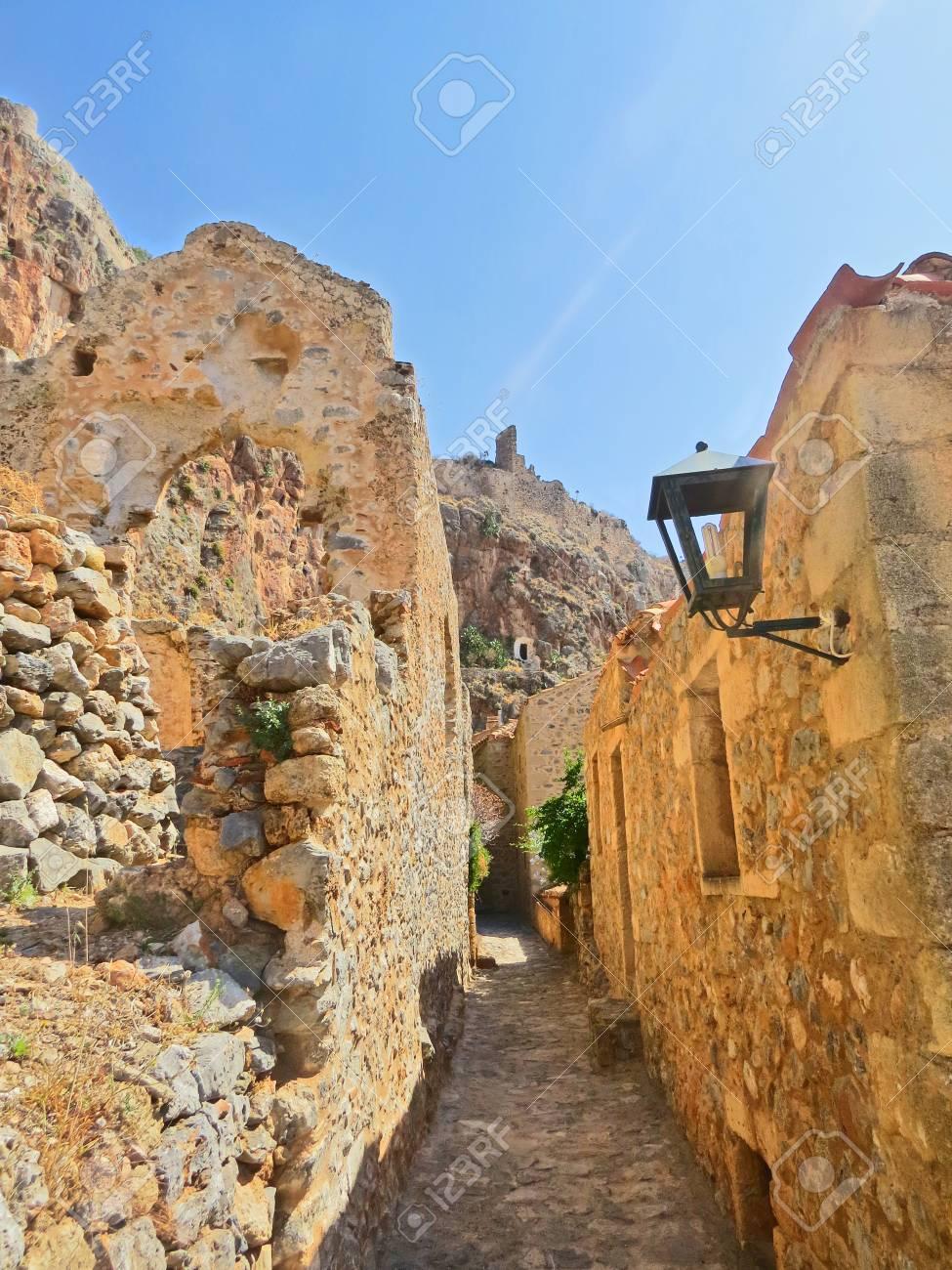 Fortress in Napfilion Stock Photo - 80232452