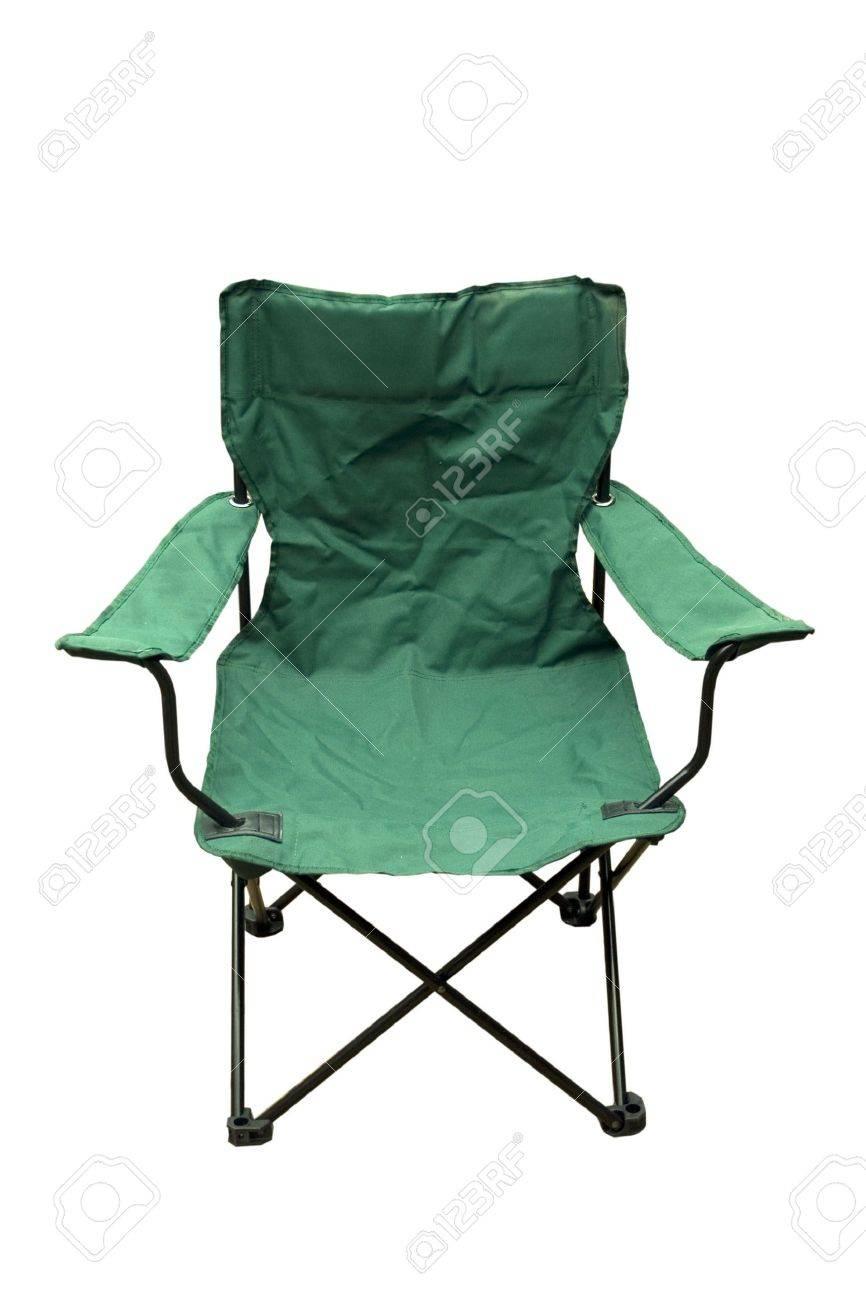 Terrific A Green Folding Camping Chair Machost Co Dining Chair Design Ideas Machostcouk