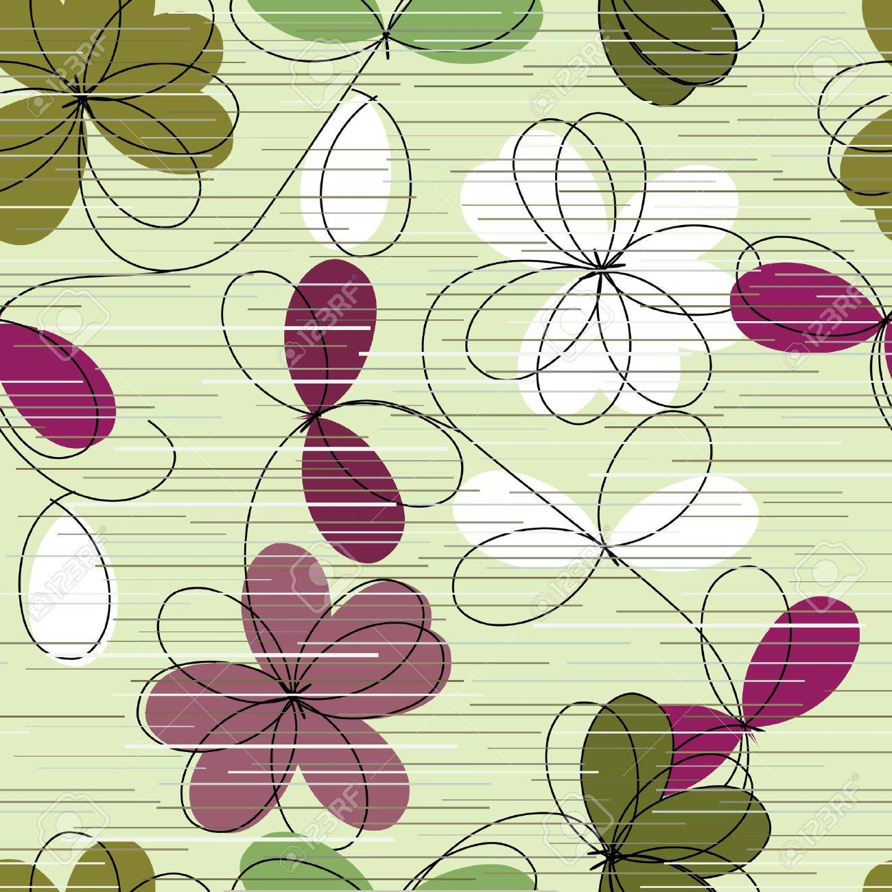 Floral seamless pattern Stock Vector - 11281579
