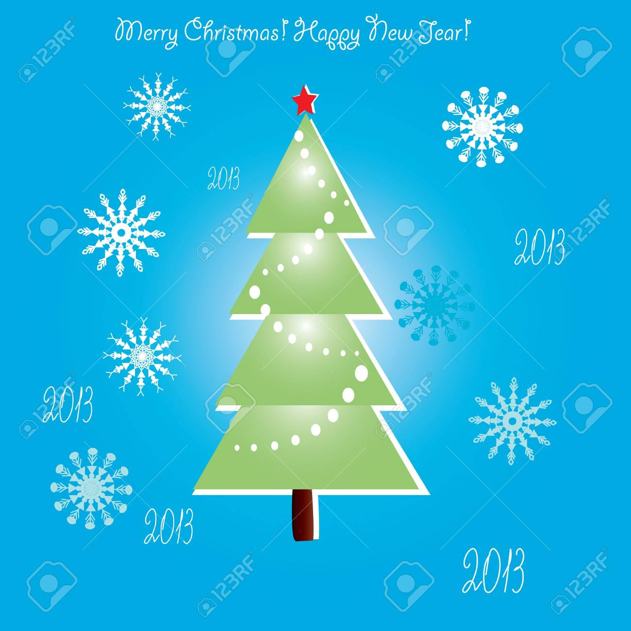 Christmas background Stock Vector - 16637743
