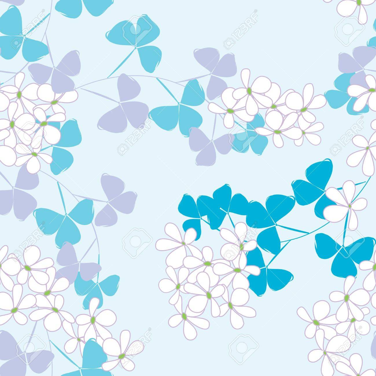 Abstract floral seamless pattern background Stock Vector - 20049492