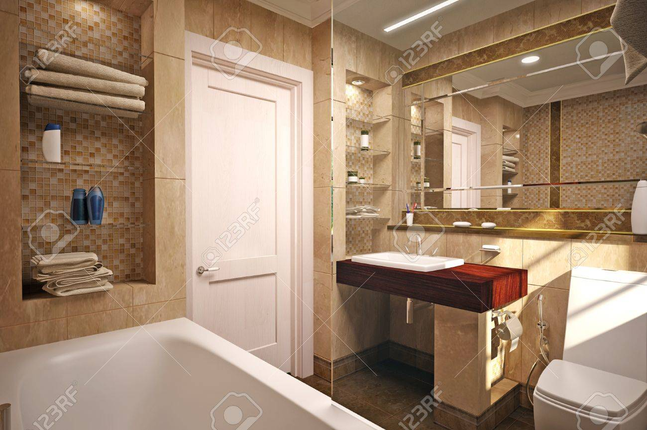 interior of the bathroom Stock Photo - 12291816