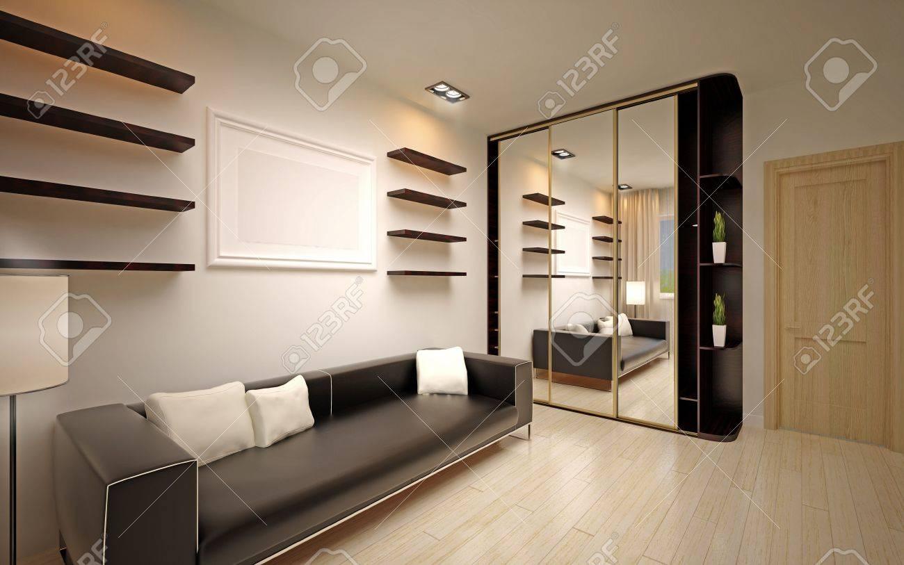 modern living room Stock Photo - 16499987