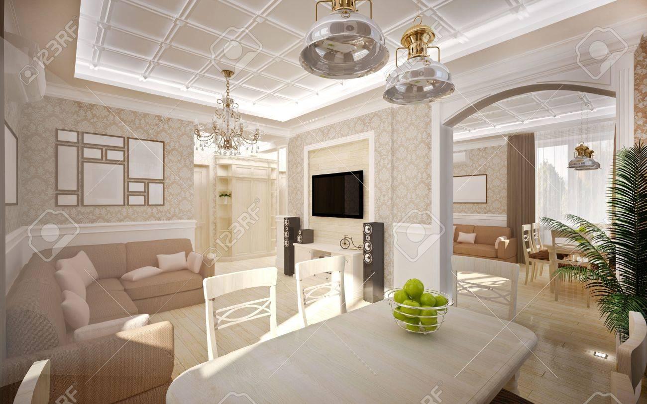 idee per arredare cucina e soggiorno insieme: tiarch.com fechada ... - Soggiorno E Sala Da Pranzo Insieme 2
