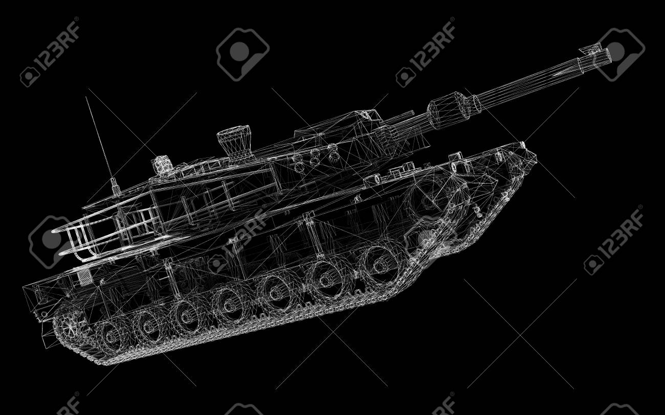 Military Wire Tank Center Trolling Motor 930011050 Diagramtr109lfbd 36 Volt Diagram And Model Body Structure Stock Photo Picture Rh 123rf Com Mil Std