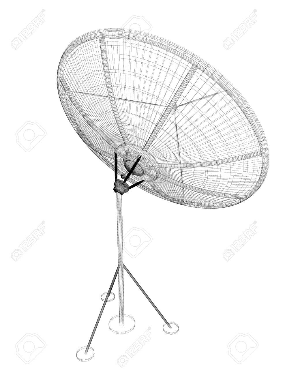 satellite tracking system satellite dish on the background stock Television Antenna Satellite Dish satellite tracking system satellite dish on the background stock photo 59883155