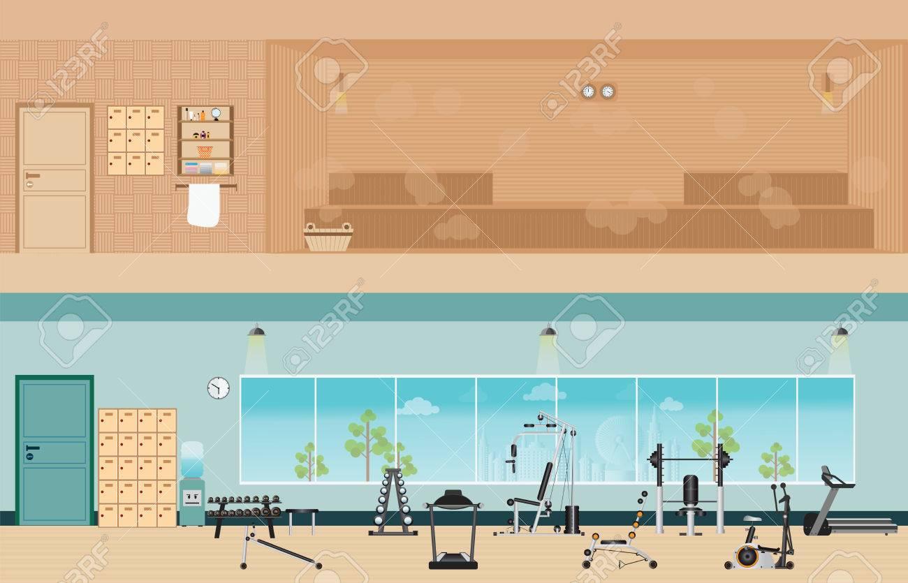 Eko hotels suites gymnasium and steam room