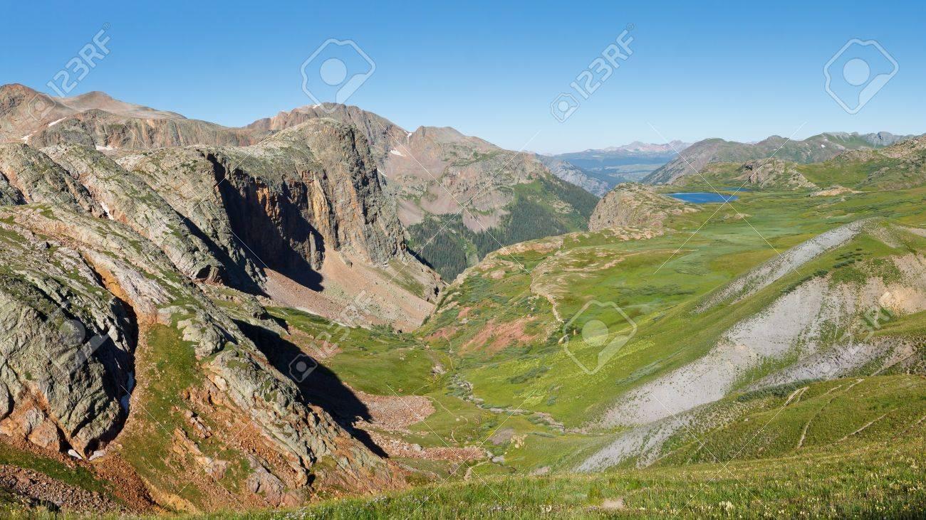 大陸分水界、ロッキー山脈、コロ...