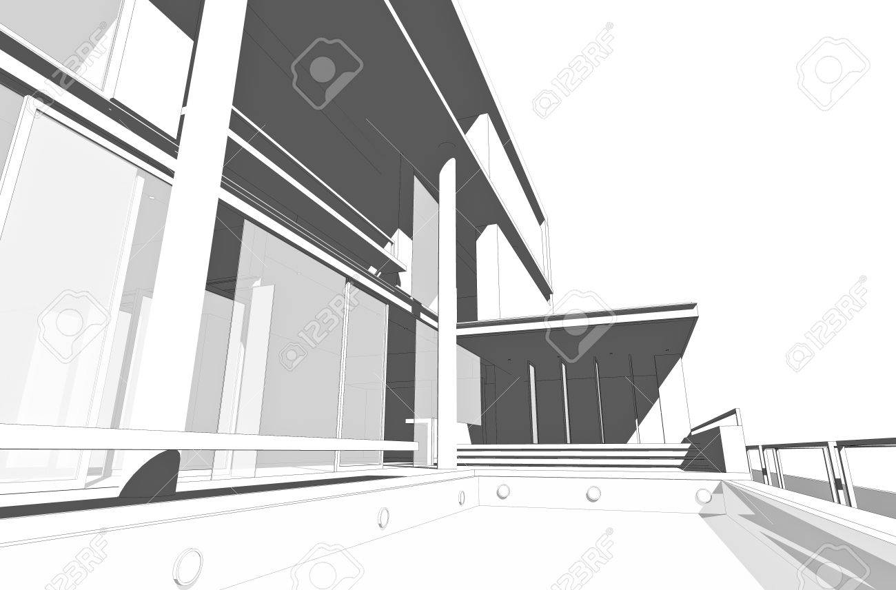 architectural drawings of modern houses - Architectural Drawings Of Modern Houses