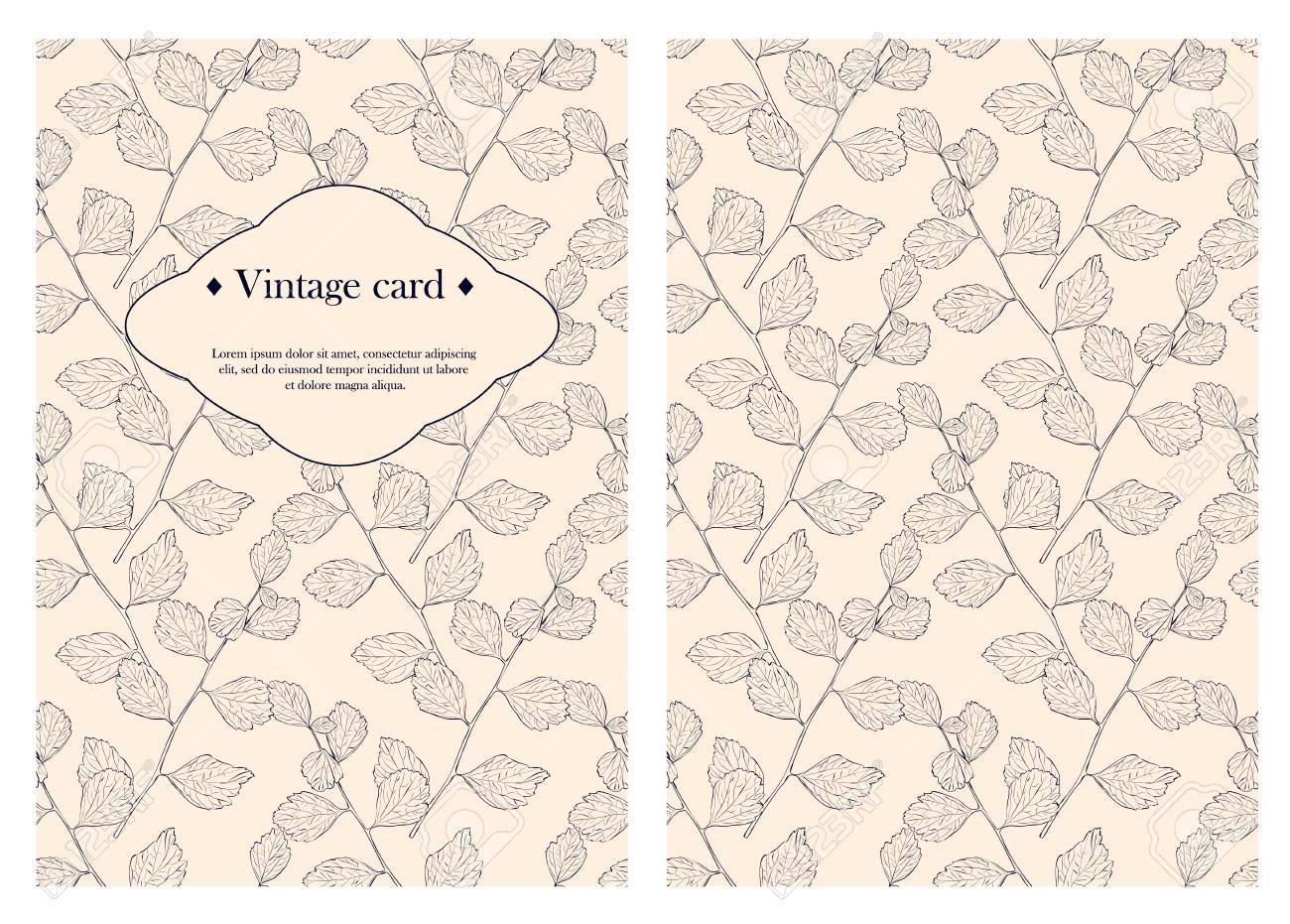 Cover Design For You Personal Cover Vintage Business Card Template - Vintage business card template