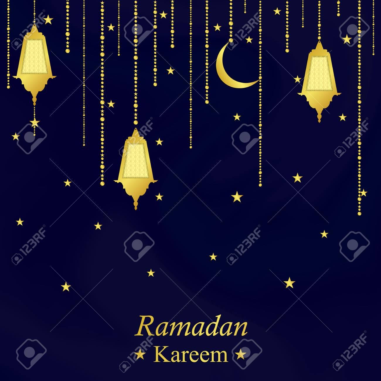 Ramadan kareem festive background traditional ramadan lantern ramadan kareem festive background traditional ramadan lantern blue greeting card the muslim holiday m4hsunfo