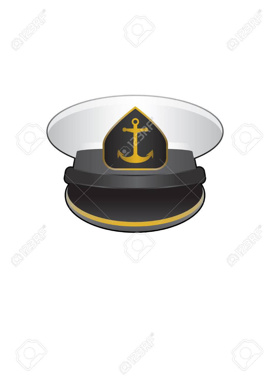 ad528923 Captain Cap Vector Royalty Free Cliparts, Vectors, And Stock ...