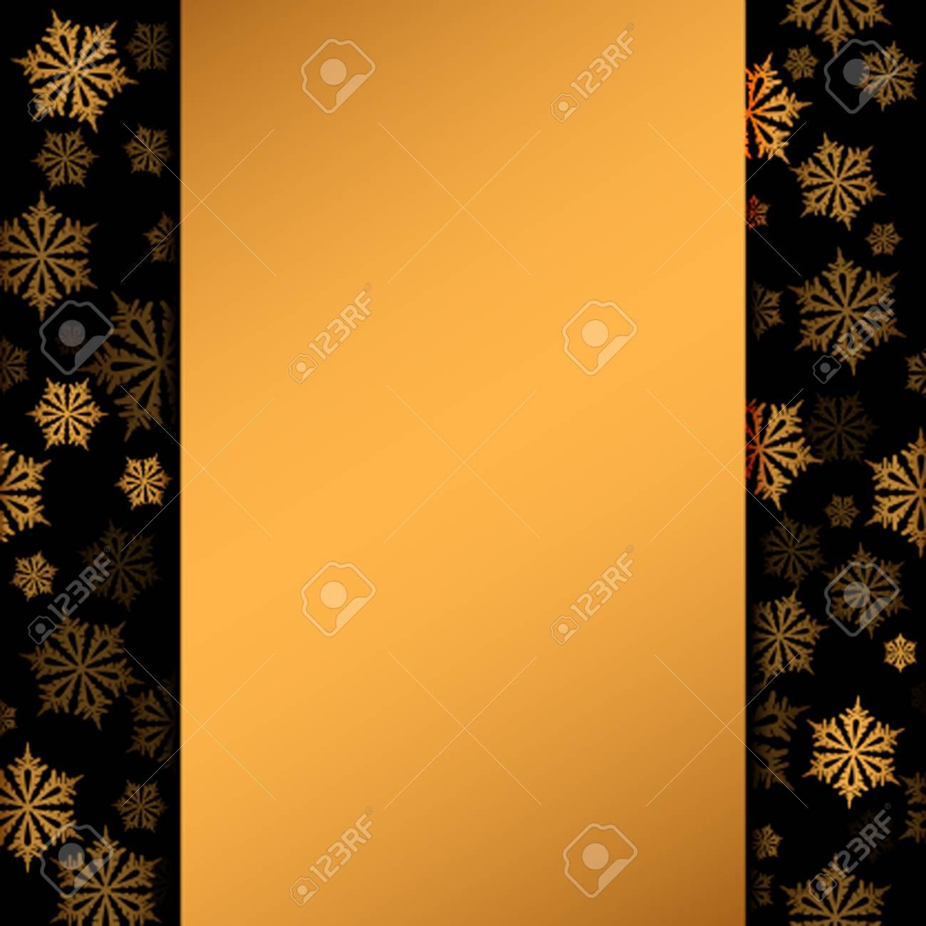 Image Ou Photo De Noel.Carte De Noel Vierge Ou Une Lettre Au Pere Noel Un Modele De Brochure Ou Des Invitations Avec Des Flocons De Neige Illustration Vectorielle