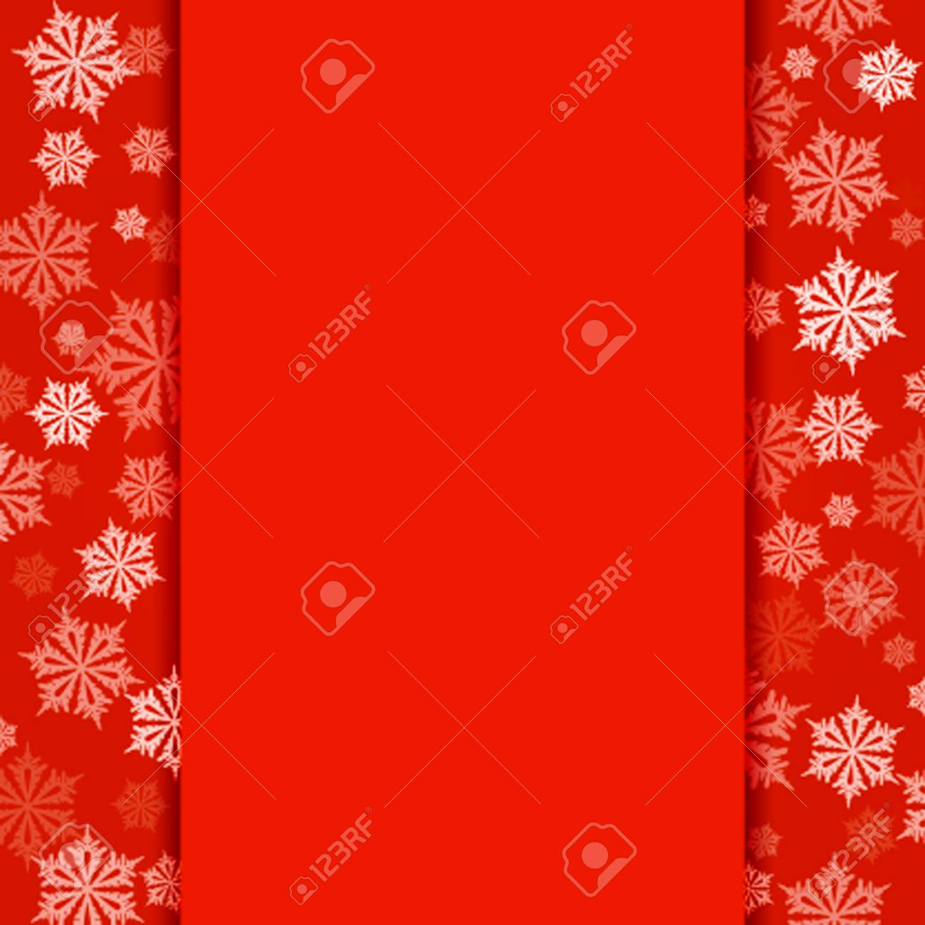 Blank Christmas Flyer Template from previews.123rf.com