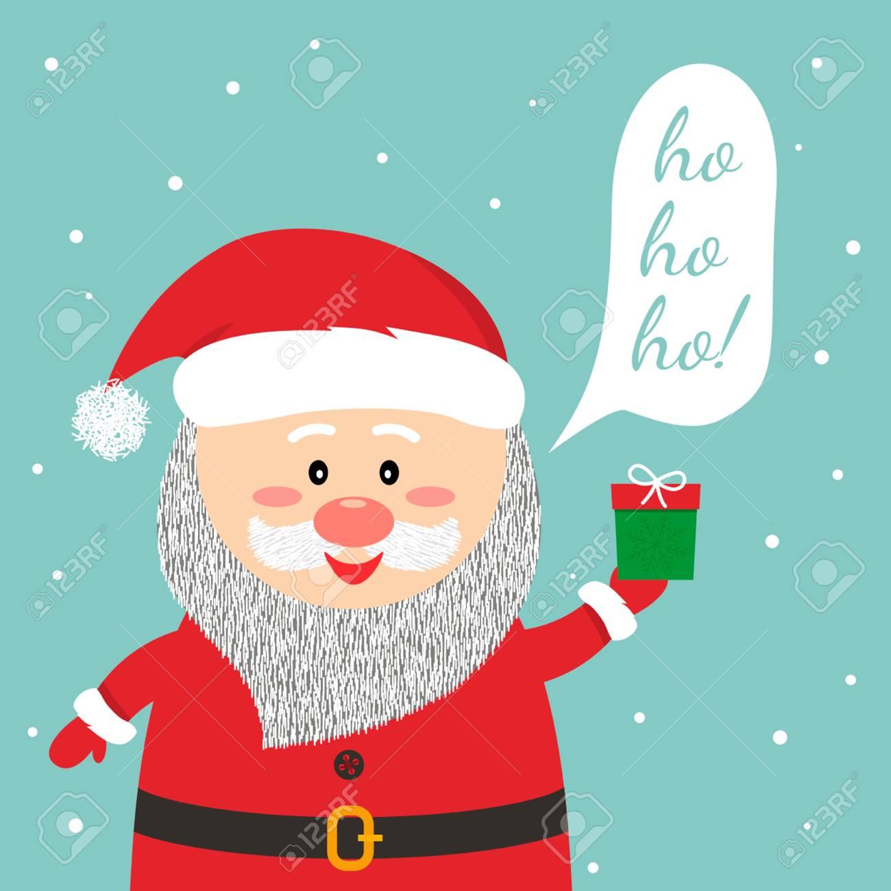 Funny christmas greetings card funny santa claus says ho ho ho funny christmas greetings card funny santa claus says m4hsunfo Image collections