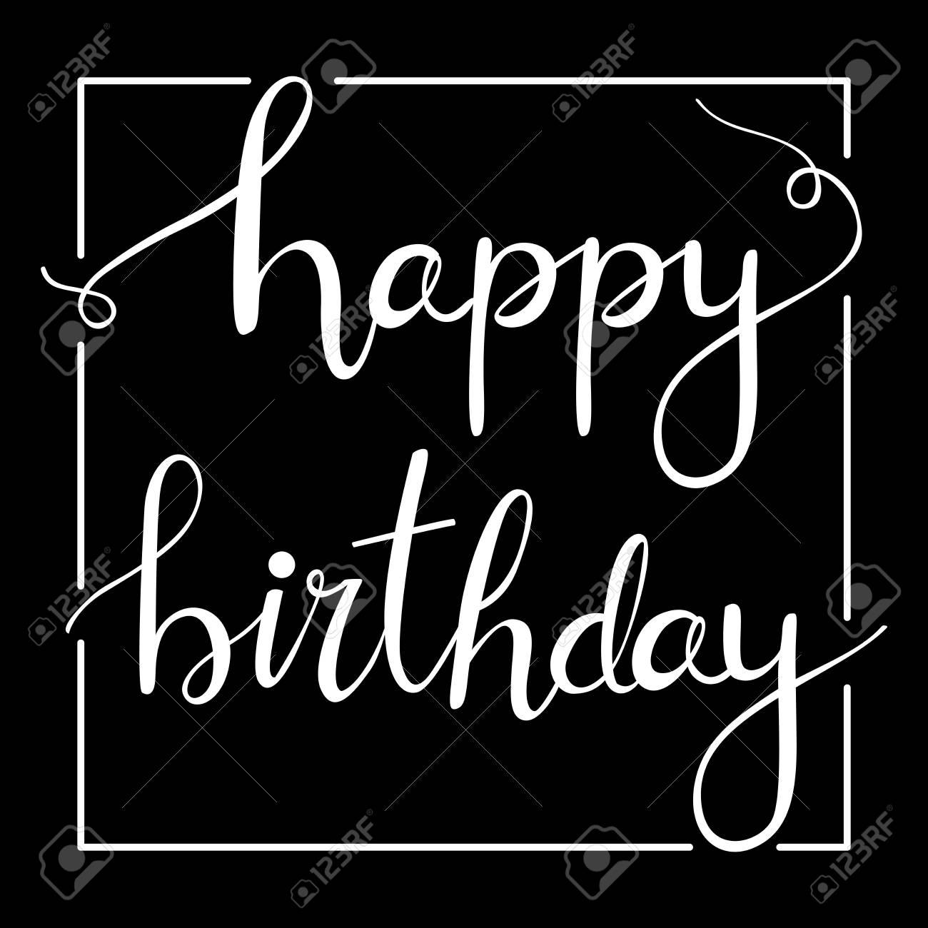 happy birthday letter vector stock vector 66100812